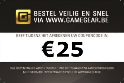 Gamegear Coupon €25