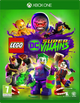 Lego DC Super Villains (XONE PROMO COPY)